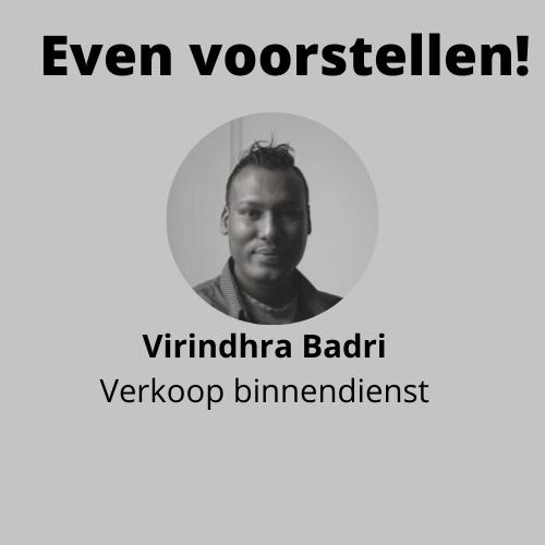 Even voorstellen! Badri